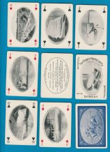 Antique Collectible  playing cards. Niagara Falls Souvenir 1901.